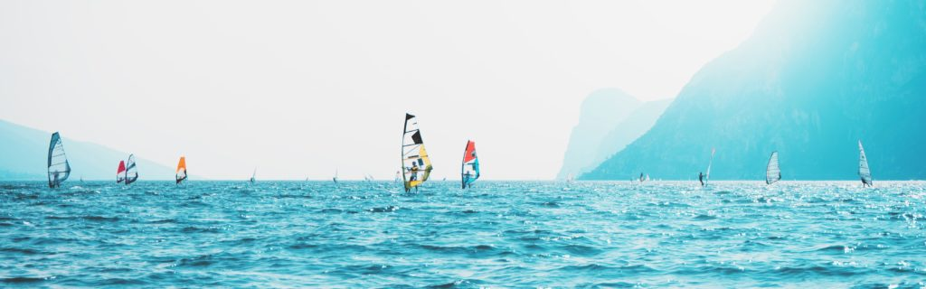 Sailboats On Sea Near Mountain 1406192 (2)